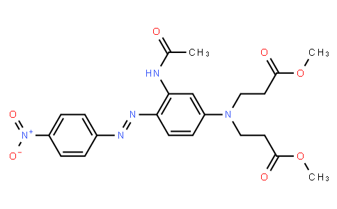 M10151 | methyl N-[3-(acetylamino)-4-[(4-nitrophenyl)azo]phenyl]-N-(3-methoxy-3-oxopropyl)-beta-alaninate