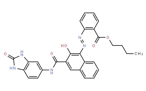 M10231 | 31778-10-6 | Butyl 2-[[3-[[(2,3-dihydro-2-oxo-1H-benzimidazol-5-yl)amino]carbonyl]-2-hydroxy-1-naphthyl]azo]benzoate