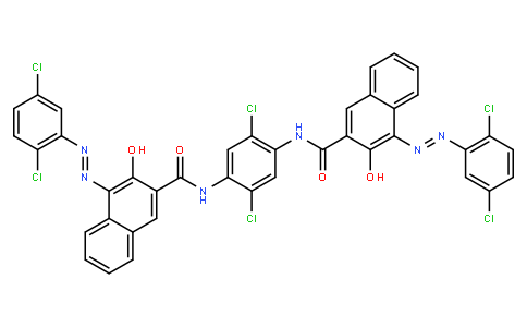 M10246 | N,N'-(2,5-dichloro-1,4-phenylene)bis[4-[(2,5-dichlorophenyl)azo]-3-hydroxynaphthalene-2-carboxamide]