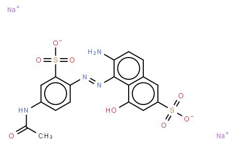 M10319 | 6360-07-2 | disodium 5-((4-acetylamino-2-sulphophenyl)azo)-6-amino-4-hydroxynaphthalene-2-disulphonate