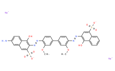 M10324 | disodium 3-[[4'-[[6-amino-1-hydroxy-3-sulphonato-2-naphthyl]azo]-3,3'-dimethoxy[1,1'-biphenyl]-4-yl]azo]-4-hydroxynaphthalene-1-sulphonate