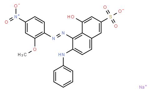 M10405 | sodium 4-hydroxy-5-[(2-methoxy-4-nitrophenyl)azo]-6-(phenylamino)naphthalene-2-sulphonate