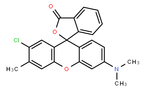 M10437 | 2'-chloro-6'-(dimethylamino)-3'-methylspiro[isobenzofuran-1(3H),9'-[9H]xanthene]-3-one