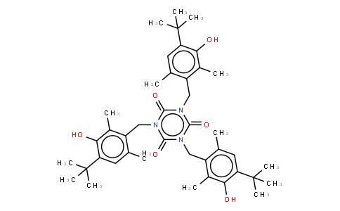 M10487 | Tris(4-tert-butyl-3-hydroxy-2,6-dimethylbenzyl) isocyanurate
