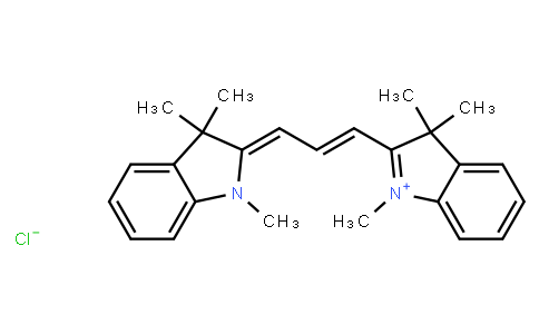 M10603 | 6320-14-5 | 2-[3-(1,3-dihydro-1,3,3-trimethyl-2H-indol-2-ylidene)prop-1-enyl]-1,3,3-trimethyl-3H-indolium chloride