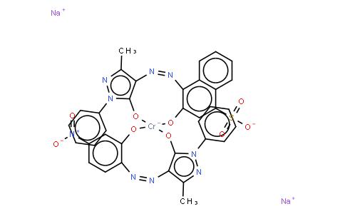 M10698 | Chromate(2-), [2,4-dihydro-4-[(2-hydroxy-4-nitrophenyl)azo]-5-methyl-2-phenyl-3H-pyrazol-3-onato(2-)][4-[(4,5-dihydro-3-methyl-5-oxo-1-phenyl-1H-pyrazol-4-yl)azo]-3-hydroxy-1-naphthalenesulfonato(3-)]-, disodium