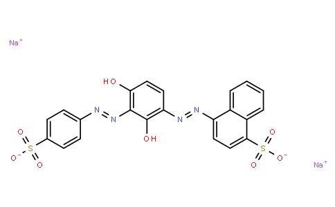 M10732 | disodium 4-[[2,4-dihydroxy-3-[(4-sulphonatophenyl)azo]phenyl]azo]naphthalene-1-sulphonate