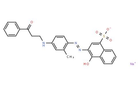 M10735 | sodium 3-[[4-(benzoylethylamino)-2-methylphenyl]azo]-4-hydroxynaphthalene-1-sulphonate