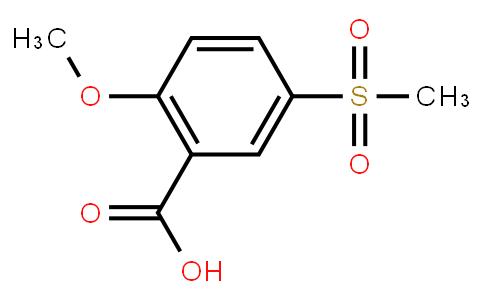M10780   2-Methoxy-5-(methylsulfonyl)benzoic acid