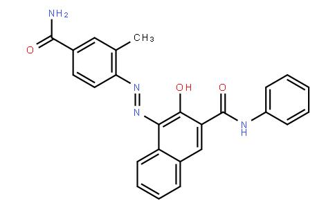 M10794 | 4-[(5-carbamoyl-o-tolyl)azo]-3-hydroxynaphth-2-anilide