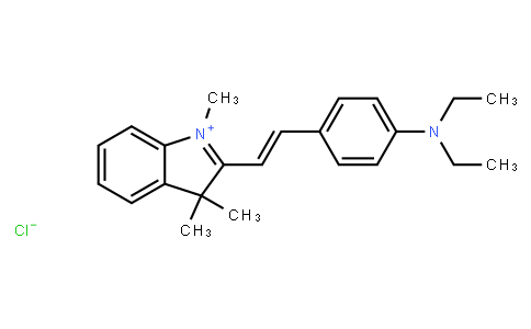 M10831 | 2-[2-[4-(diethylamino)phenyl]vinyl]-1,3,3-trimethyl-3H-indolium chloride