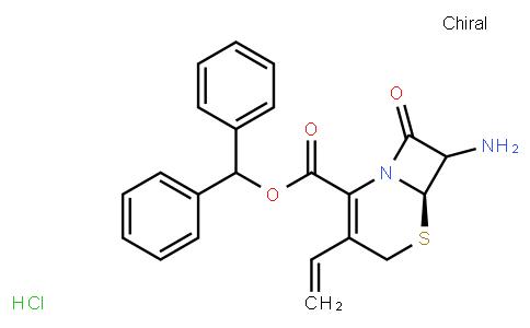 M10844   7-Amino-3-vinyl-3-cephem-4-carboxylic acid diphenylmethyl ester monohydrochloride