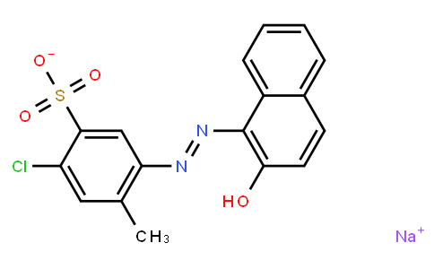 M10860   sodium 5-chloro-2-(2-hydroxy-1-naphthylazo)toluene-4-sulfonate