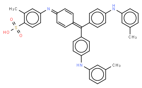 M10870 | 6417-46-5 | 2-methyl-4-[[4-[[4-[(3-tolyl)amino]phenyl][4-[(3-tolylimino]-2,5-cyclohexadien-1-ylidene]methyl]phenyl]amino]benzenesulphonic acid