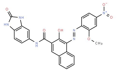 M10917 | N-(2,3-Dihydro-2-oxo-1H-benzimidazol-5-yl)-3-hydroxy-4-[(2-methoxy-4-nitrophenyl)azo]-2-naphthalenecarboxamide