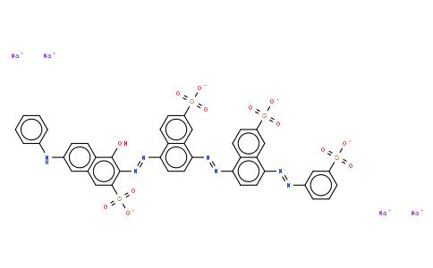M10928 | tetrasodium 5-[[1-hydroxy-6-(phenylamino)-3-sulphonato-2-naphthyl]azo]-8-[[6-sulphonato-4-[(3-sulphonatophenyl)azo]naphthyl]azo]naphthalene-2-sulphonate