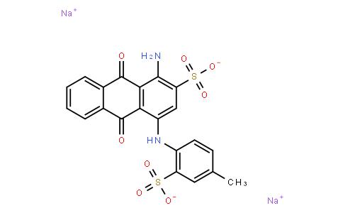 M10931 | disodium 1-amino-9,10-dihydro-4-[(4-methyl-2-sulphonatophenyl)amino]-9,10-dioxoanthracene-2-sulphonate