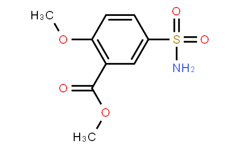M10946 | 33045-52-2 | Methyl 2-methoxy-5-sulfamoylbenzoate
