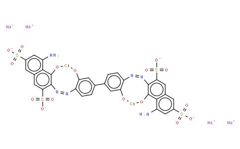 M11040 | 28407-37-6 | tetrasodium [mu-[[3,3'-[(3,3'-dihydroxy[1,1'-biphenyl]-4,4'-diyl)bis(azo)]bis[5-amino-4-hydroxynaphthalene-2,7-disulphonato]](8-)]]dicuprate(4-)