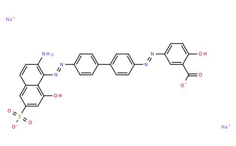 M11062   disodium 5-[[4'-[(2-amino-8-hydroxy-6-sulphonato-1-naphthyl)azo][1,1'-biphenyl]-4-yl]azo]salicylate