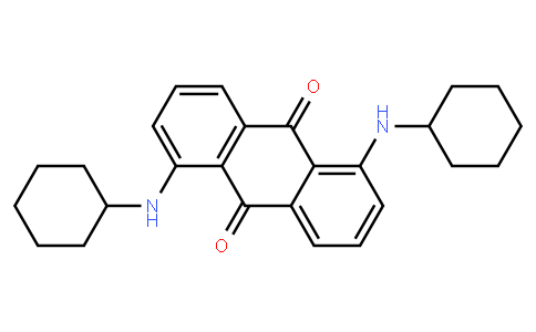 M11211 | 1,5-Dicyclohexylaminoanthraquinone