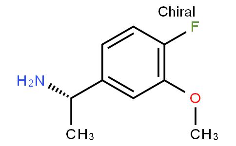 81015 - (1S)-1-(4-fluoro-3-methoxyphenyl)ethanamine | CAS 870849-59-5