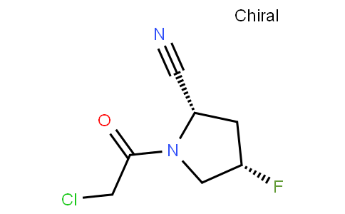 82714 - (2S,4S)-1-(2-chloroacetyl)-4-fluoropyrrolidine-2-carbonitrile | CAS 596817-06-0