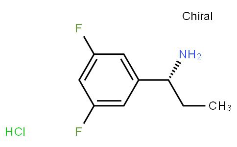 81019 - (R)-1-(3,5-Difluorophenyl)propan-1-amine hydrochloride | CAS 473733-16-3