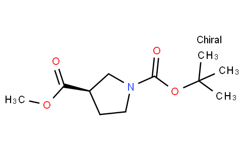 83130 - (R)-1-tert-Butyl 3-methyl pyrrolidine-1,3-dicarboxylate | CAS 441717-40-4