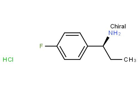 91122 - (S)-1-(4-Fluorophenyl)propan-1-amine hydrochloride | CAS 1145786-74-8