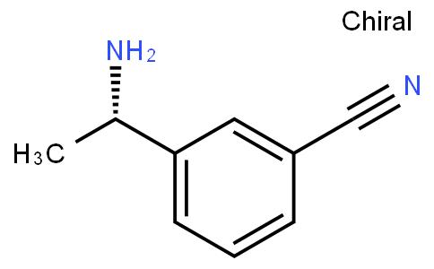90728 - (S)-3-(1-Aminoethyl)benzonitrile | CAS 127852-22-6