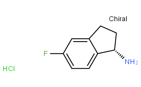 91112 - (S)-5-Fluoro-2,3-dihydro-1H-inden-1-amine hydrochloride | CAS 1114333-11-7