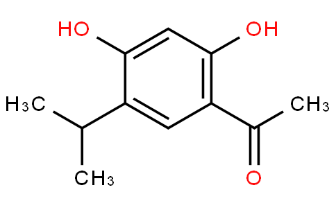 62801 - 1-(2,4-Dihydroxy-5-isopropylphenyl)ethanone | CAS 747414-17-1