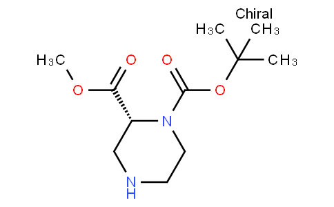 81726 - 1-O-tert-butyl 2-O-methyl (2R)-piperazine-1,2-dicarboxylate | CAS 252990-05-9