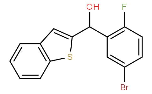 82728 - 1-benzothien-2-yl(5-bromo-2-fluorophenyl)methanol | CAS 1034305-11-7