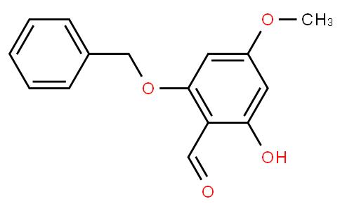 91819 - 2-(benzyloxy)-6-hydroxy-4-methoxybenzaldehyde | CAS 1476847-50-3