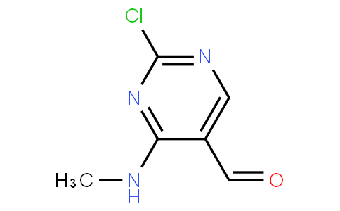 1781601 - 2-chloro-4-(methylamino) pyrimidine-5-carbaldehyde | CAS 839708-50-8