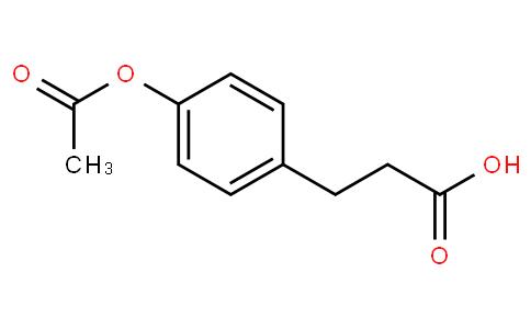 90702 - 3-(4-Acetoxyphenyl)propanoic acid | CAS 7249-16-3