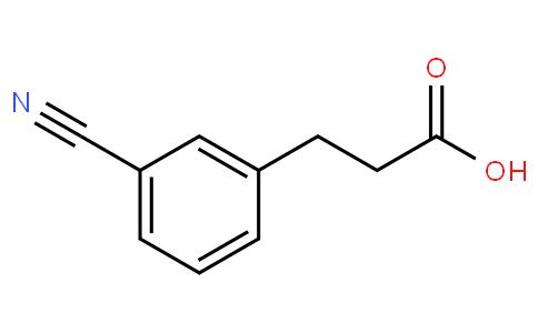 90611 - 3-Cyanobenzenepropanoic acid | CAS 42287-97-8