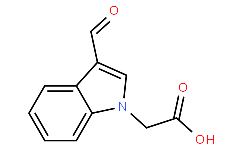 81944 - 3-Formylindol-1-yl-Acetic Acid | CAS 138423-98-0