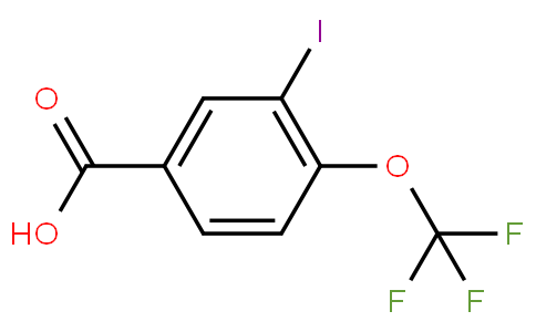 80316 - 3-Iodo-4-(trifluoromethoxy)benzoic acid | CAS 1110709-70-0