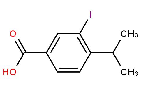 80313 - 3-iodo-4-isopropylbenzoic acid | CAS 99059-64-0