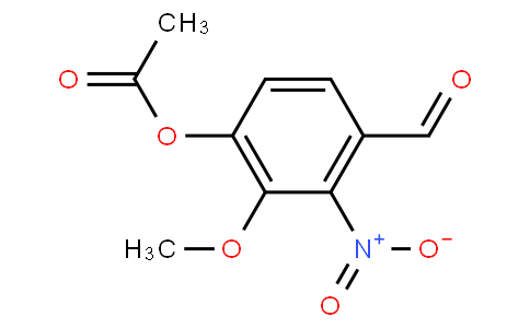 178225 - 4-FORMYL-2-METHOXY-3-NITROPHENYL ACETATE | CAS 2698-69-3