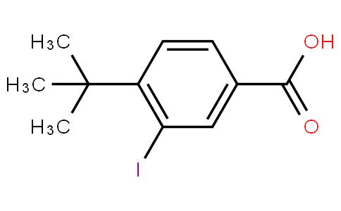 80315 - 4-tert-butyl-3-iodobenzoic acid | CAS 91131-72-5