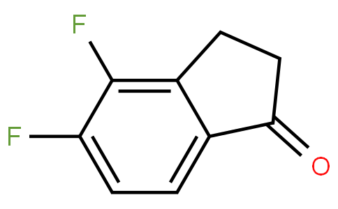 83105 - 4,5-Difluoro-2,3-dihydro-1H-inden-1-one | CAS 628732-11-6