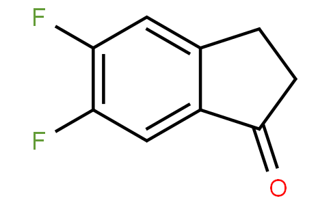 83106 - 5,6-difluoro-2,3-dihydroinden-1-one | CAS 161712-77-2
