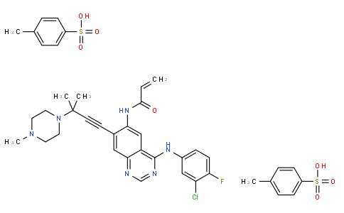 100501 - AV-412(MP-412) | CAS 451493-31-5(tosylate);451492-95-8(free-base)