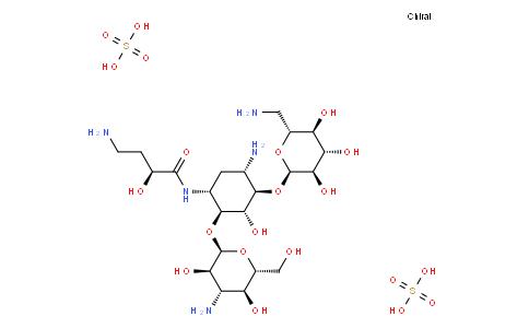 17021407 - 硫酸阿米卡星 | CAS 39831-55-5