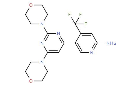 52207 - BKM120(NVP-BKM120, Buparlisib) | CAS 944396-07-0