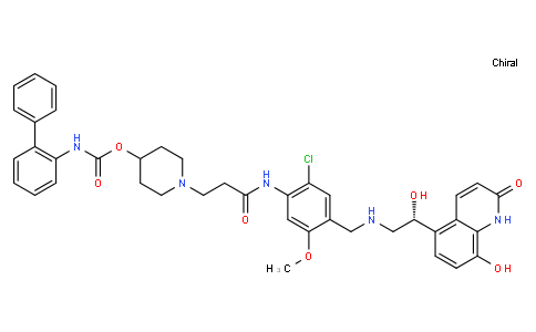 179820 - Batefenterol(free base) | CAS 743461-65-6